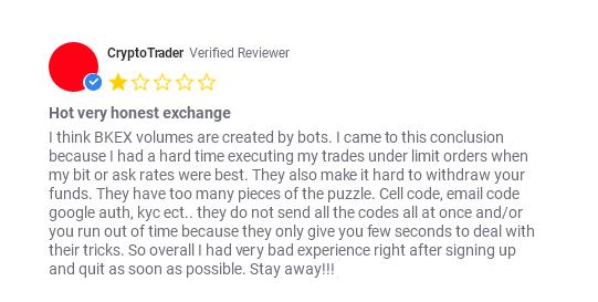 BKEX биржа