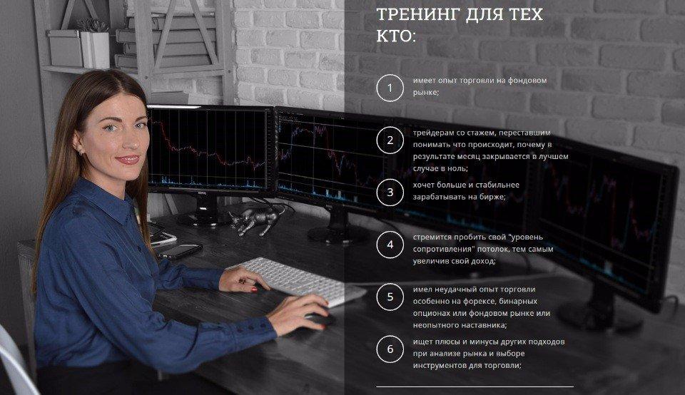 Сайт трейдера Ирины Булыгиной