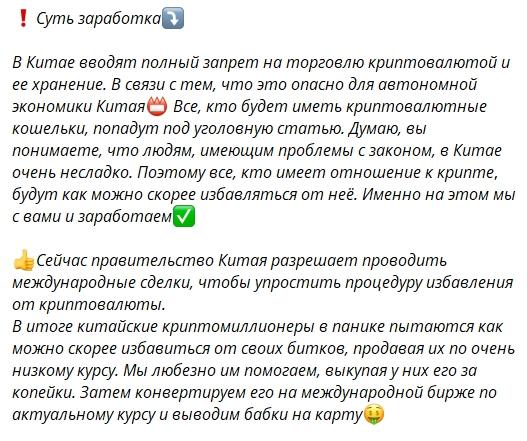 Суть заработка Дениса Купецкого
